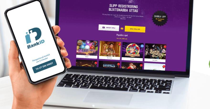 Fördelar med BankID casinon