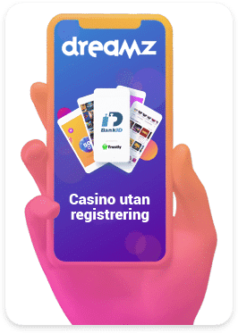 Casinon utan krav på registrering